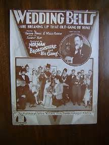 Wedding Bells Are Breaking Up That Of Mine Lyrics by That Of Mine 1923 Sheet Cad 1 26