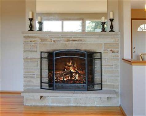 Fireplace Screens Columbus Ohio by Custom Cut Fireplace Glass Wood Stove Inserts Columbus Oh