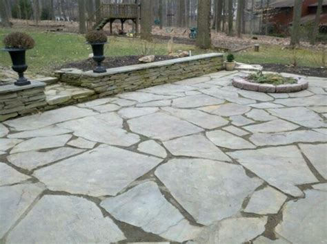natural stone patio pictures and ideas