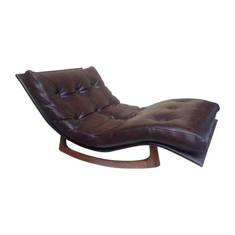 adrian pearsall rocking chaise adrian pearsall wave chaise rocker chairish