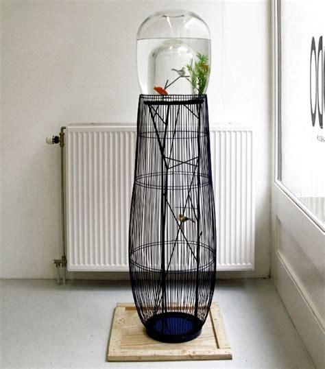 aquarium and bird in a cage design the concept duplex interior design ideas ofdesign