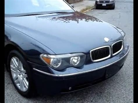 2009 bmw 745li 2002 bmw 745li luxury sedan detailed vehicle overview