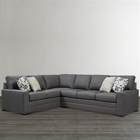 L Shaped Sectional by Bassett 2626 Lsectll Braylen Large L Shaped Sectional