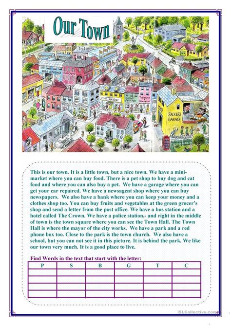 esl resources new february 2016 part 5 lesson our town worksheet free esl printable worksheets made by