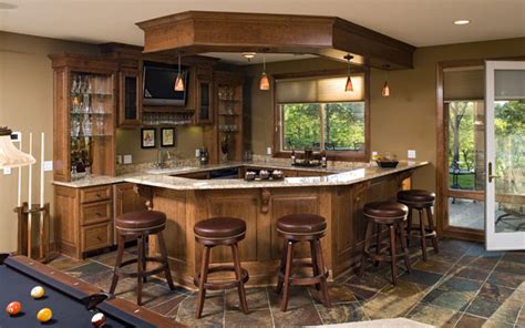 house bar bars and wet bars house plans and more