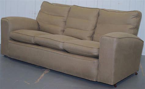 feather sofa cushions uk deco 1920 s club sofa oatmeal linen upholstery