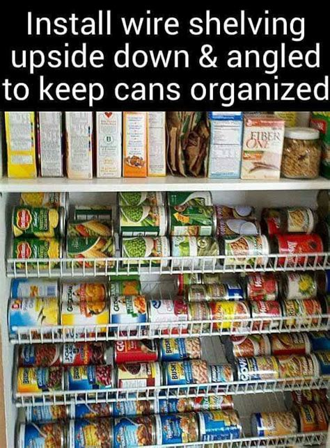 How To Set Up A Food Pantry by Shelving Pantry And Organizations On