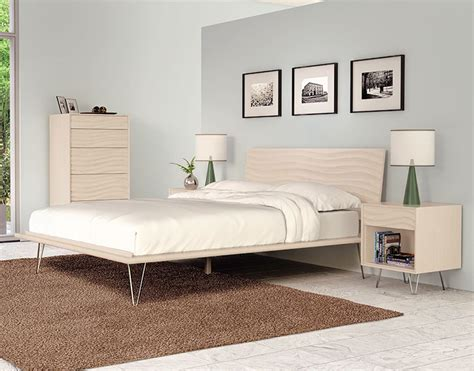 wave bedroom set wave bedroom sarasota modern contemporary furniture