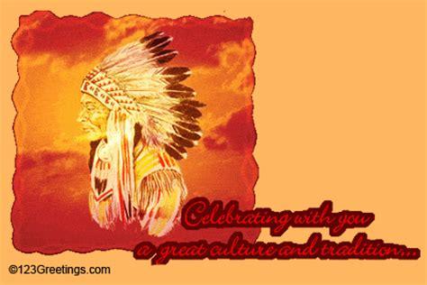 celebrating    native american heritage month ecards