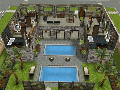 house layout sims 13 best images about the sims freeplay house design ideas