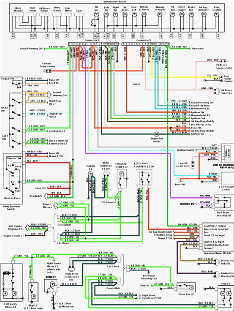 2005 mustang wiring diagram wiring diagram