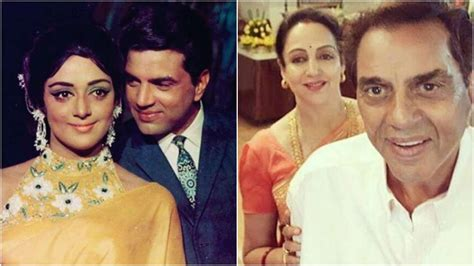It's Dharmendra Hema Malini's wedding anniversary and