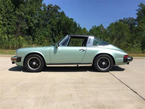 porsche targa green 2 7s porsche targa 1976 an green auto