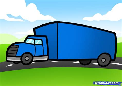 truck kid how to draw a truck for by cars for