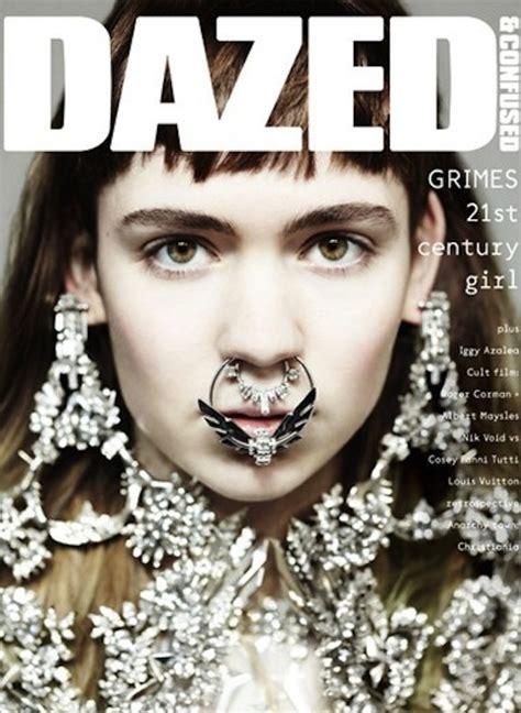 radar grimes is our october cover star fashion 50 cult favorite grimes for dazed confused april 2012 sidewalk hustle