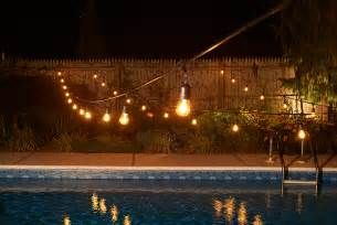 outdoor strand lighting outdoor string lights