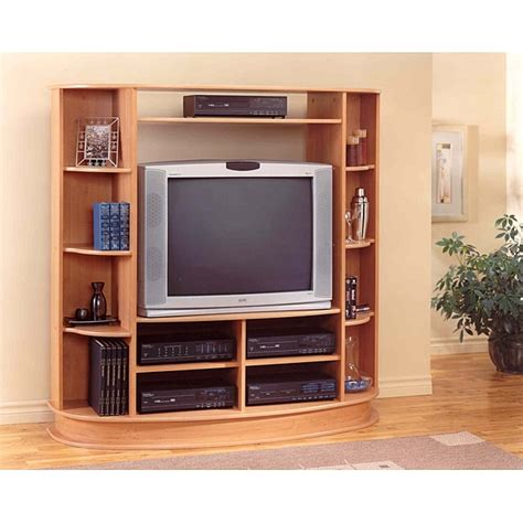 Classic Cherry Entertainment Center   Free Shipping Today