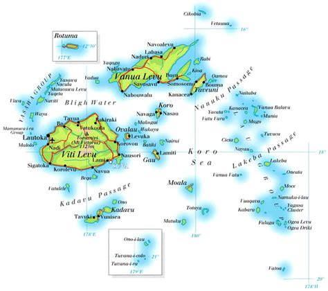 map of fiji maps of fiji map library maps of the world