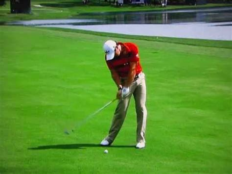super slow motion golf swing rory mcilroy super slow motion swingvision superg youtube
