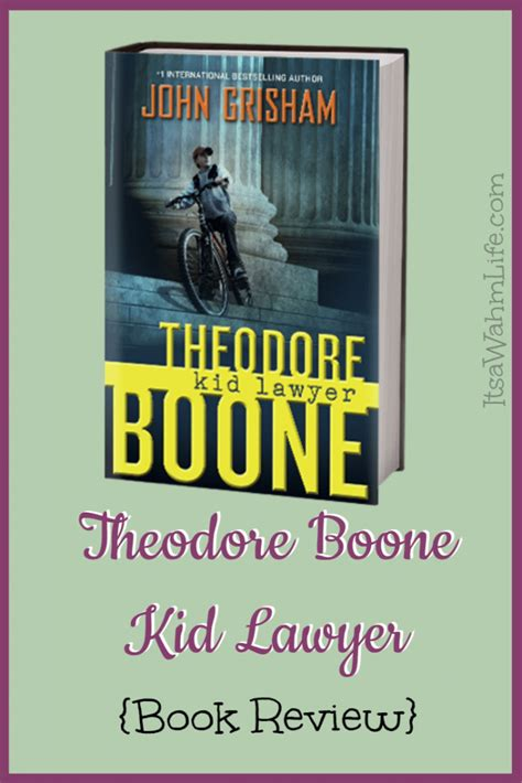 theodore boone kid lawyer book report theodore boone kid lawyer book review its a wahm