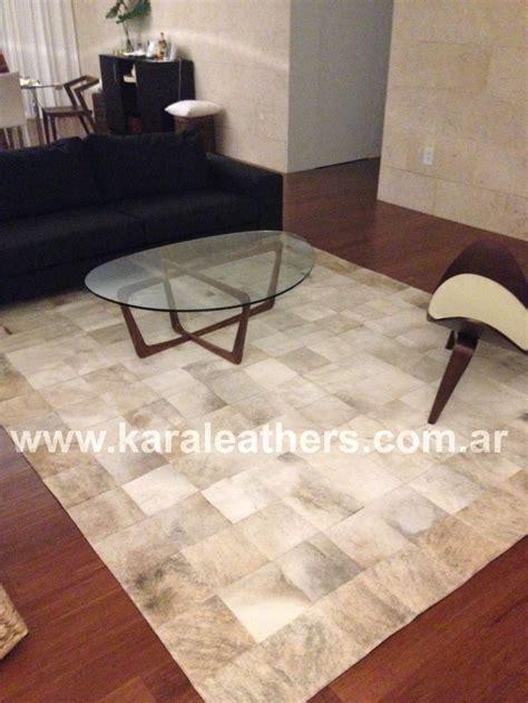 cowhide rug living room ideas cowhide patchwork rug white beige living room ideas