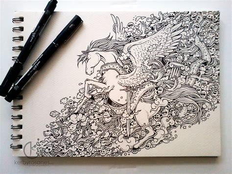 Drawing Doodles by With Doodle Artist Kerby Rosanes Friday
