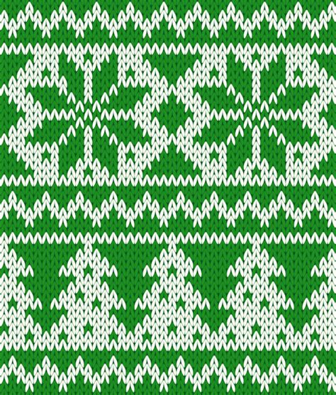 knit pattern vector knitted fabric christmas pattern vector set free vector in