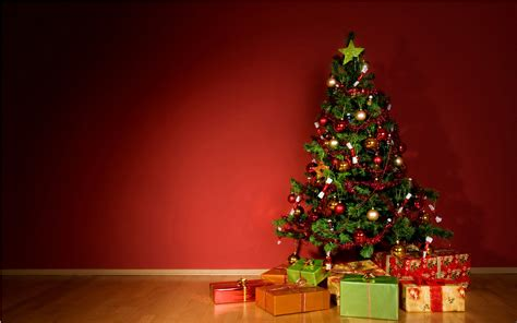 gifts for children under the christmas tree for new year
