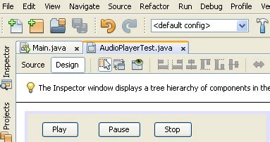 tutorial java jmf tutorials 4 java basic audio player using java