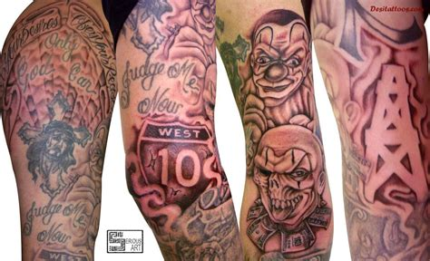 hood tattoos designs sleeve tattoos designs 50 fantastic gangsta tattoos