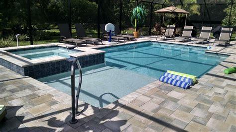 geometric pool designs geometric pool and spa design estero fl
