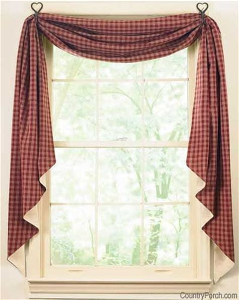 bedroom swag curtains 17 best images about country cottage window treatments on