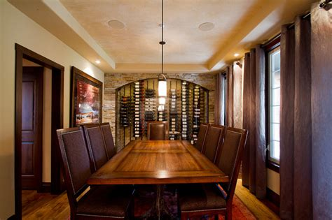 Wine Cellar Dining Room by Dining Room Wine Cellar Traditional Dining Room