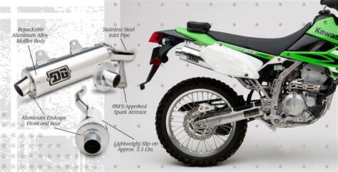 Kawasaki Klx250 S kawasaki klx 250 s sf 2012 r series slip on exhaust dg