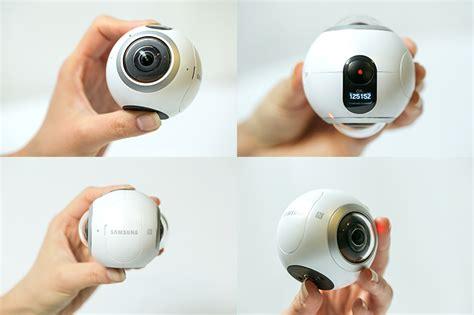 Kamera Samsung Gear samsung gear 360 sferyczna kompaktowa kamerka