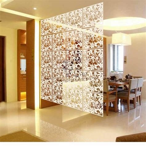 decorative partitions folding screen room divider plastic partitions shield for
