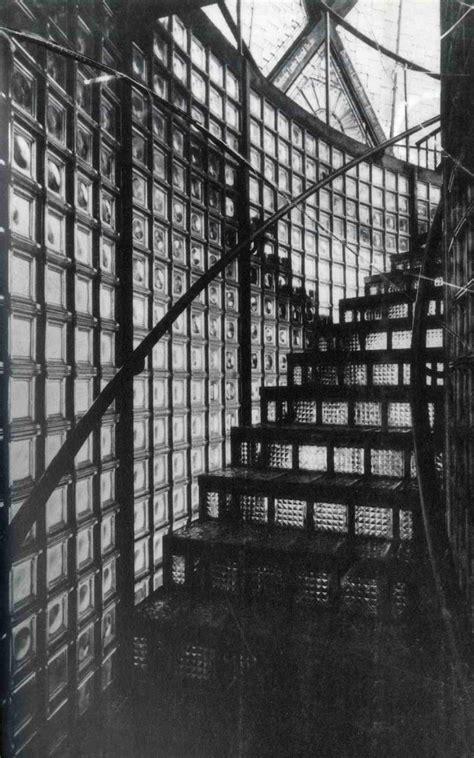 bruno tauts glass pavilion
