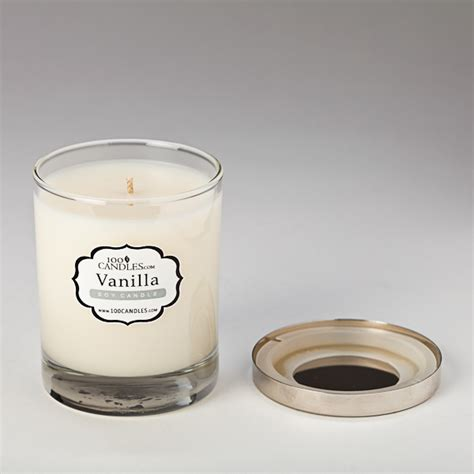 Vanilla Candles by Vanilla Scented Soy Candle By Lumaness