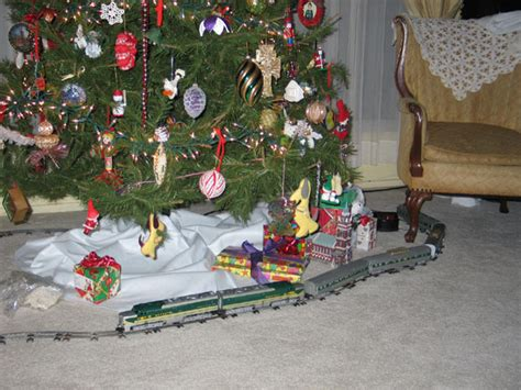 toy that goes around christmas tree sets for the tree an important feature to consider is the fact that