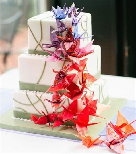 Wedding Origami - 41 trendy origami wedding ideas happywedd