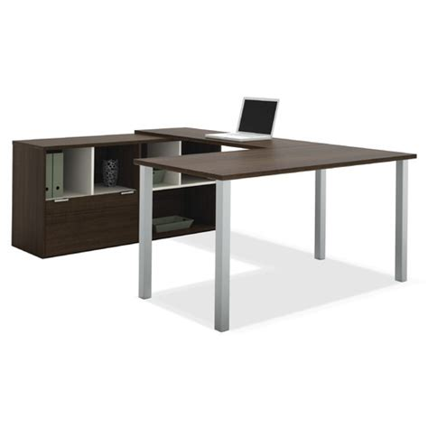 Creative Design Of U Shaped Desk For Home Office Homesfeed U Shaped Desk Plans
