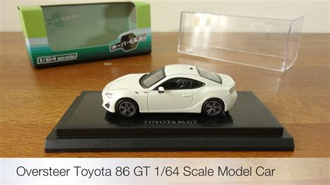 Diecast Toyota 86 oversteer 1 64 toyota 86 pearl white diecast scale model review