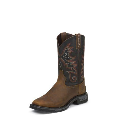 tony lama work boots tony lama tlx walnut tacoma work boots tw4003 654903