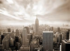 New York City Wall Murals Wall Mural Skyline New York City Photo Wallpaper For Wall