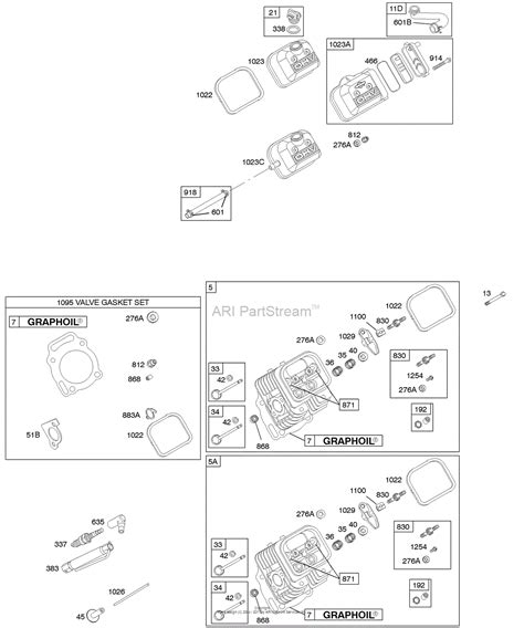 valve diagram briggs and stratton 380447 0079 e1 parts diagram for