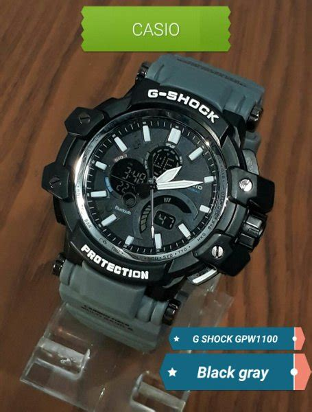 Kaos Tshirt Baju G Shock jual grosir jam tangan murah casio g shock gpw1100 black