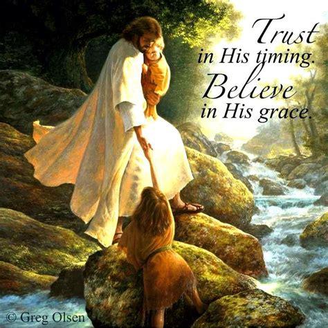 trust   timing    grace   afraid