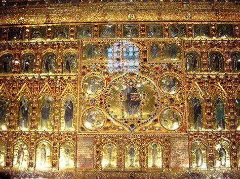 markusdom innen bild quot pala d oro quot zu basilica di san marco markusdom in