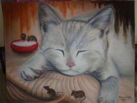 gambar painting kucing image gallery lukisan kucing