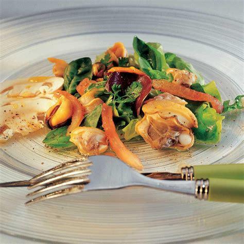 basilic cuisine recette salade de coquillages au basilic cuisine